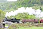 foto of former yugoslavia  - steam freight train  - JPG