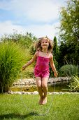 picture of skipping rope  - Active child  - JPG