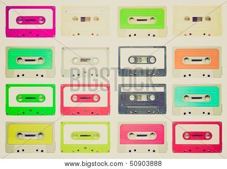 Retro Look Tape Cassettes