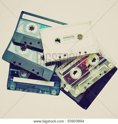 Retro Look Cassettes