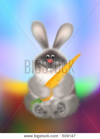 Rabbit With Carrot