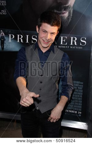 LOS ANGELES - SEP 12:  Dylan Minnette at the