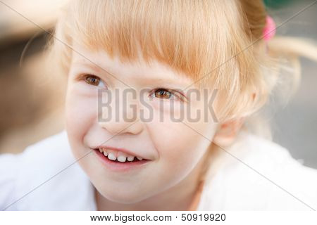 Little Girl's Face