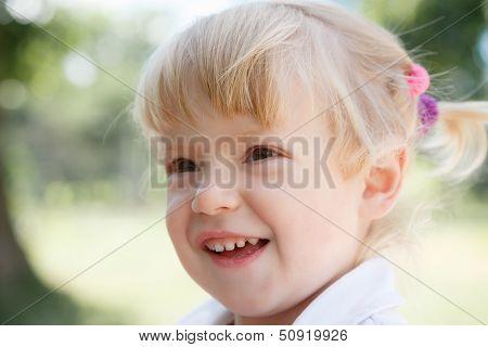 Little Girl's Face