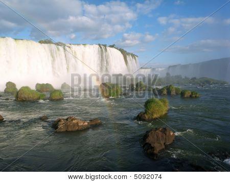 Panorama Iguacu Falls