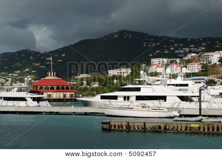 Clouds Over St.thomas