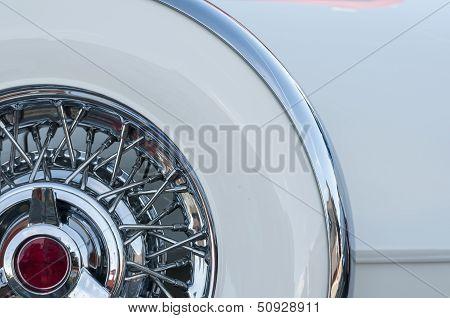 Intricate Spare Wheel