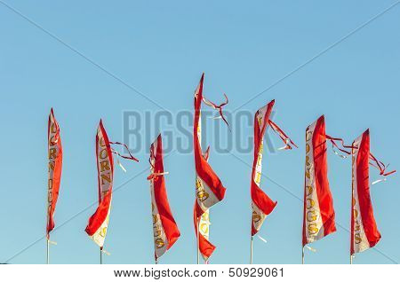 Corn Dog Flags