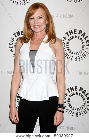 LOS ANGELES - SEP 13:  Marg Helgenberger at the PaleyFest Fall Flashback -