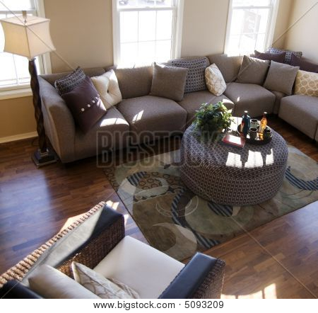 Executive Home Living Room Area