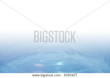 Smooth Water Ripples Background