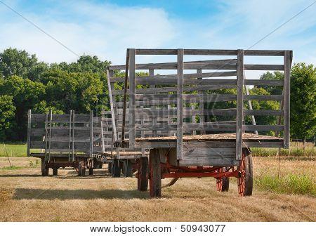 Hay Wagon Lineup