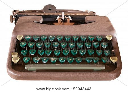 Dusty Old Manual Typewriter