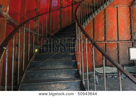 Metal Screw Stair