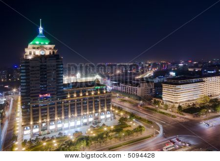 Night Beijing City