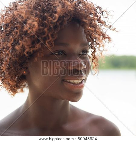 Portrait Of A Black Girl