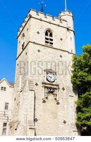 Carfax Tower, Oxford, Oxfordshire, England