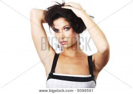 Young Pretty Woman - Portrait