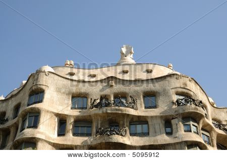 La Pedrera In Barcelona, Spain