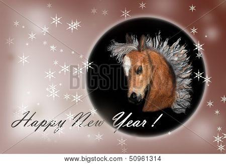 symbol of 2014 New Year