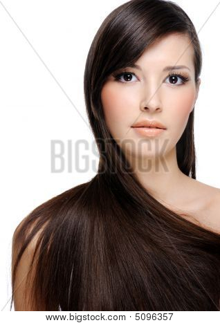 Beauty Woman With Perfect Hairs