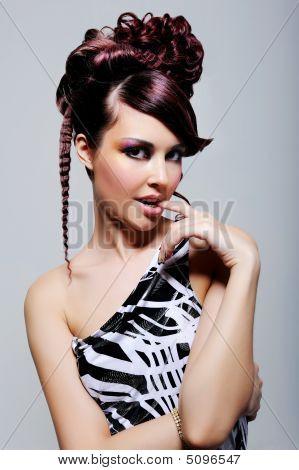 Expressive Seductive Beautiful Girl