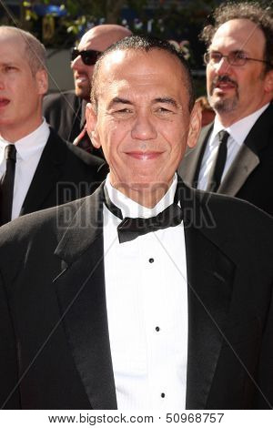 LOS ANGELES - SEP 15:  Gilbert Gottfried at the Creative Emmys 2013 - Arrivals at Nokia Theater on September 15, 2013 in Los Angeles, CA