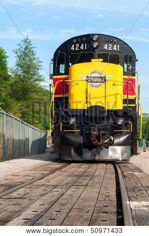 Looming Locomotive