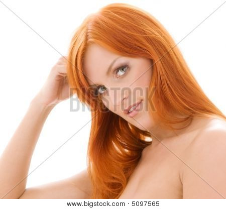 Healthy Naked Redhead