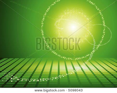 Verde painéis solares