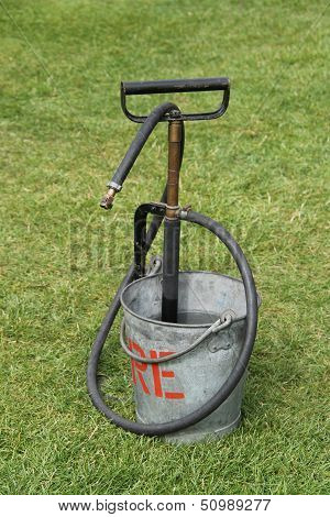 Metal Fire Bucket.