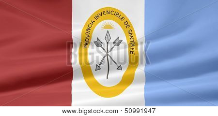 Flag of Santa Fe - Argentina