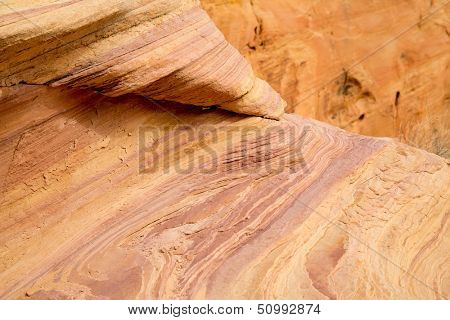 Colourful rock formations in The Valley of Fire State Park, Nevada, USA