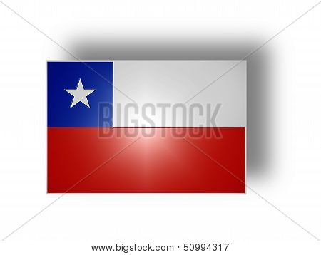 Flag Of Chile (stylized I).
