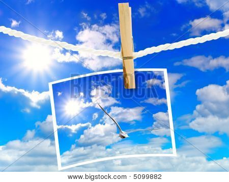 Sky And Frame