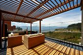 stock photo of pergola  - Interior design - JPG