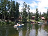 image of colorado high country  - between grand lake and lake granby - JPG