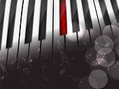 picture of rainbow piano  - Music concept with piano - JPG