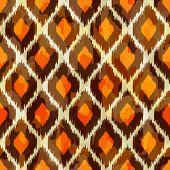picture of gobelin  - Stylish modern ikat tribal seamless pattern - JPG