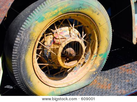 Repainted Tire
