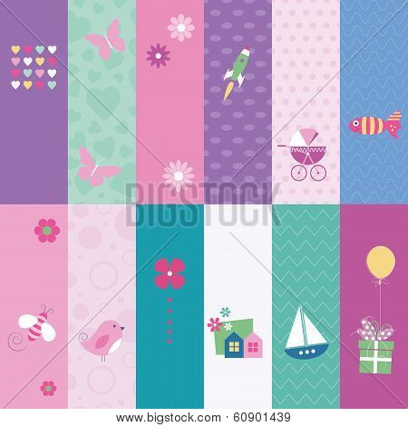 kids greeting cards collection