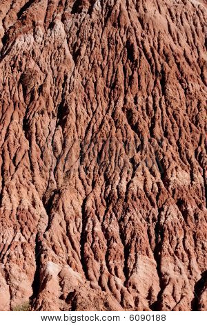 Rock Texture Eroded By Water