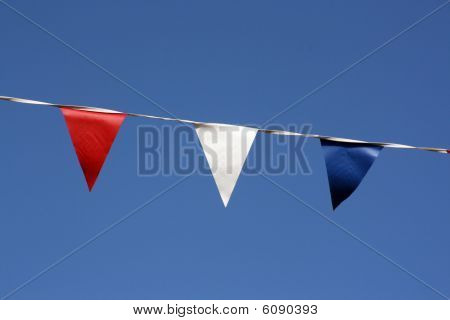 Close Up Of Bunting