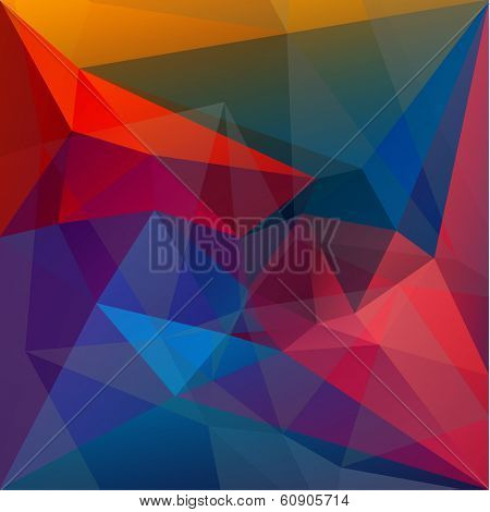 Abstract colorful g??metric background - vector eps10
