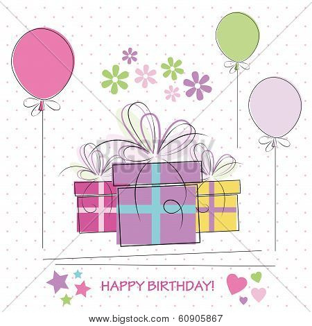 happy birthday gifts card