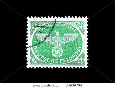 Deutsche Feldpost stamp