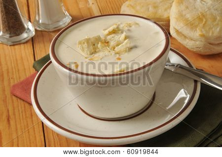 Cup Of Clam Chowder