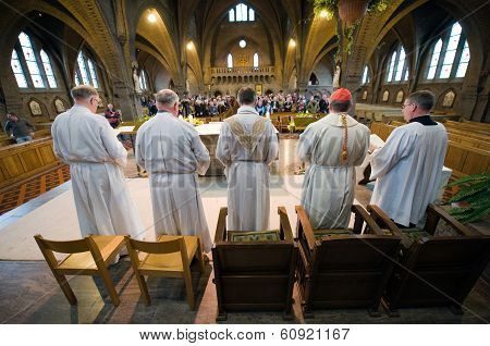 Mass In Church