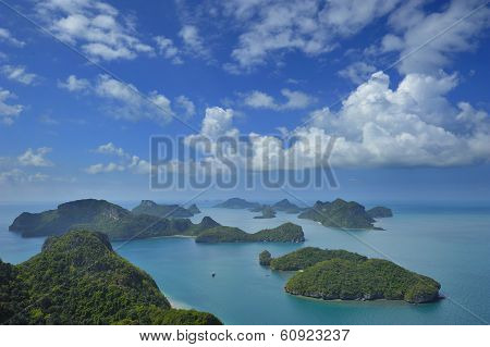 Group Of Islands Angthong
