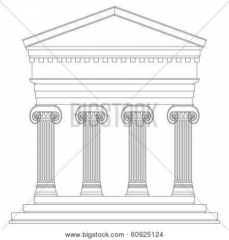 Ionic Temple